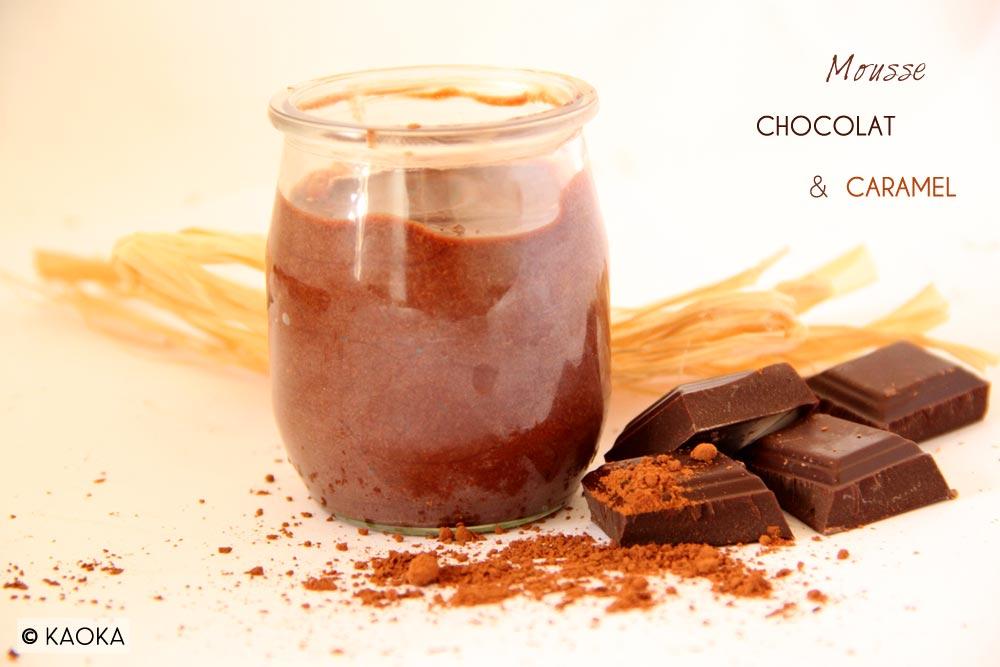 Mousse Chocolat & Caramel