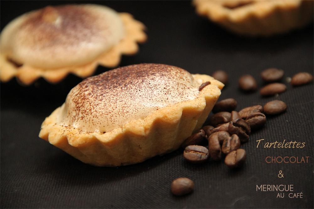 Tartelettes Chocolat & Meringue au Café