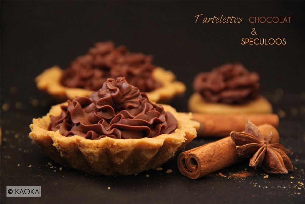 Tartelettes chocolat speculoos KAOKA