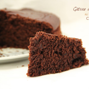 Gateau au chocolat en poudre de cacao