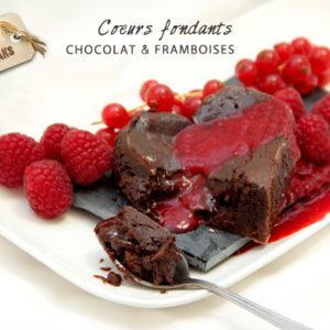 Coeurs Fondants Chocolat & Framboises